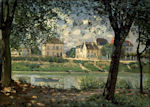 Alfred Sisley: Villeneuve-la-Garenne