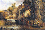 John Constable: The valley farm