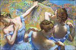 Edgar Degas: ballerina's