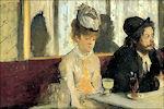 Edgar Degas: De absintdrinkster, 1876