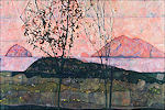 Egon Schiele: Ondergaande zon