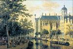 Nieuwezijds Voorburgwal met Paleis op de Dam