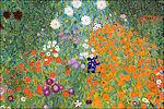 Boerderijtuin van Gustav Klimt