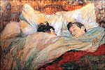 In bed voor Lautrec