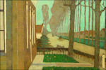 Jan Mankes: Weg langs de vaart in de Knipe