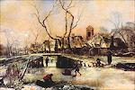 Winterlandschap van Jan van de Cappelle