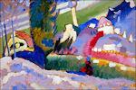 Winterlandschap van Kandinsky