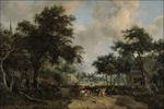 Boslandschap Meindert Hobbema