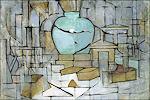 Piet Mondriaan: Stilleven met gemberpot II