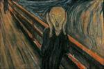 Schreeuw van Edvard Munch