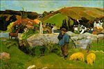 Paul Gauguin: Zwijnenhoeder in Bretagne, 1888
