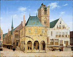 Pieter Saenredam en het oude stadhuis