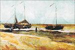Vincent van Gogh: het strand van Scheveningen
