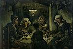 Aardappeleters van Vincent van Gogh