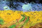 Vincent van Gogh: Korenveld met kraaien